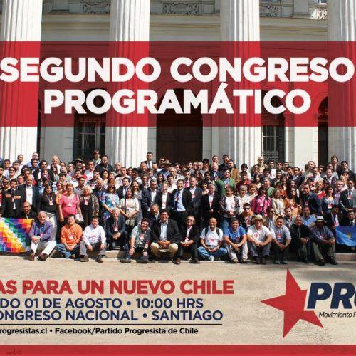 Partido Progresista celebró Congreso Programático reafirmando compromiso con la  Asamblea Constituyente y anunció candidatura en Santiago Centro