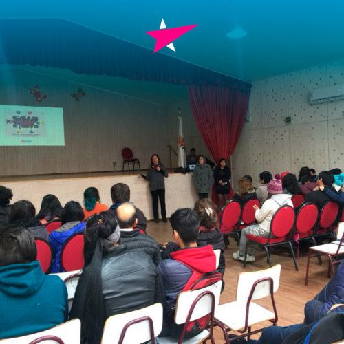Progresistas dictaron charlas sobre la importancia de la mujer en política en liceos de Chiguayante