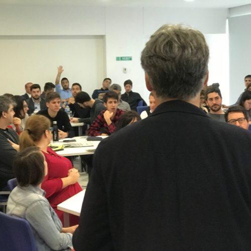 Marco Enríquez-Ominami en Diplomado en Buenos Aires