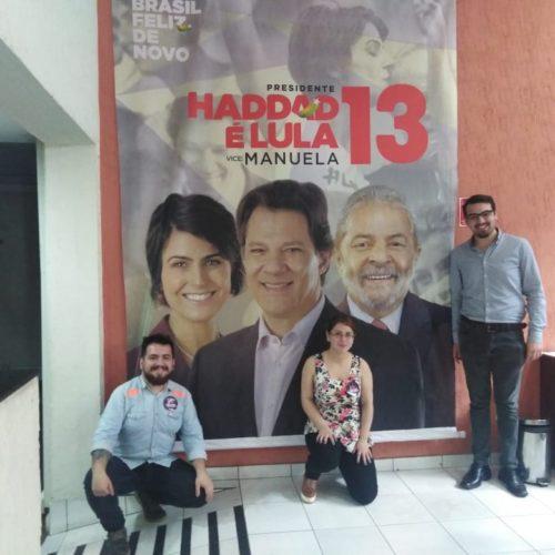 Las Juventudes Progresistas acompañan el proceso eleccionario en Brasil