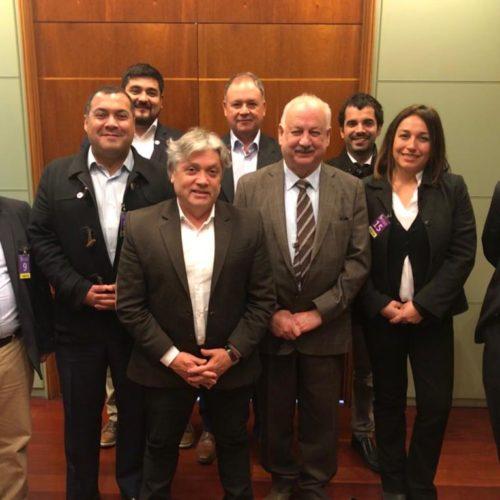 Bancada PC-Progresistas oficializa a Alejandro Navarro como su representante en el Senado