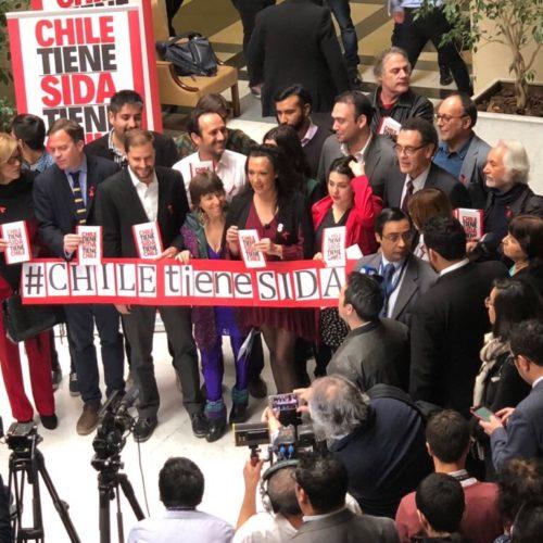 El compromiso de la diputada Marisela Santibáñez con #ChileTieneSida