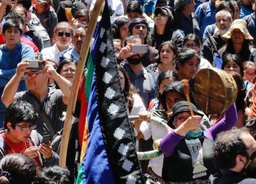 El Frente Político de Mujeres de la Oposición de La Araucanía rechaza la violencia ejercida por FFEE