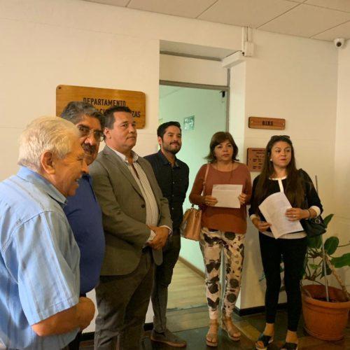 Carta de los partidos de oposición de Antofagasta donde emplazan al gobierno por sus promesas incumplidas