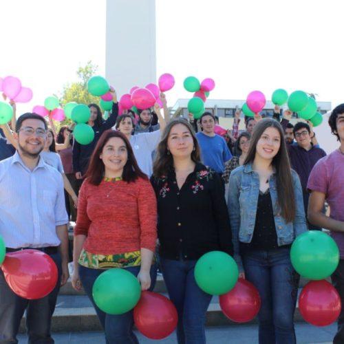 Sergio Sanhueza, militante de la JPRO oficializa su candidatura a la Federación de la U. de Concepción