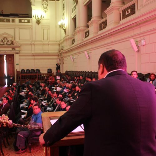 Así fue la intervención de Camilo Lagos en el encuentro de UNIDAD