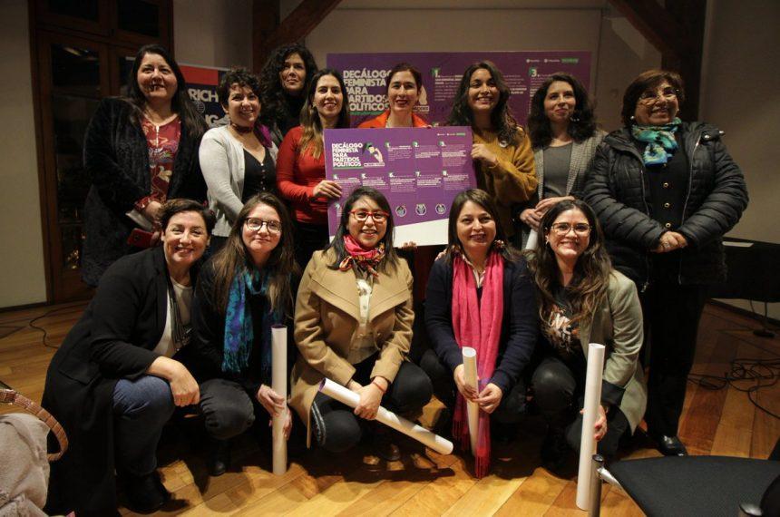 DECÁLOGO FEMINISTA PARA PARTIDOS POLÍTICOS