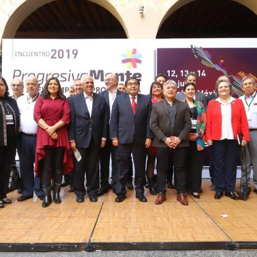 Grupo de oposición participa en encuentro de líderes progresistas de América Latina en México