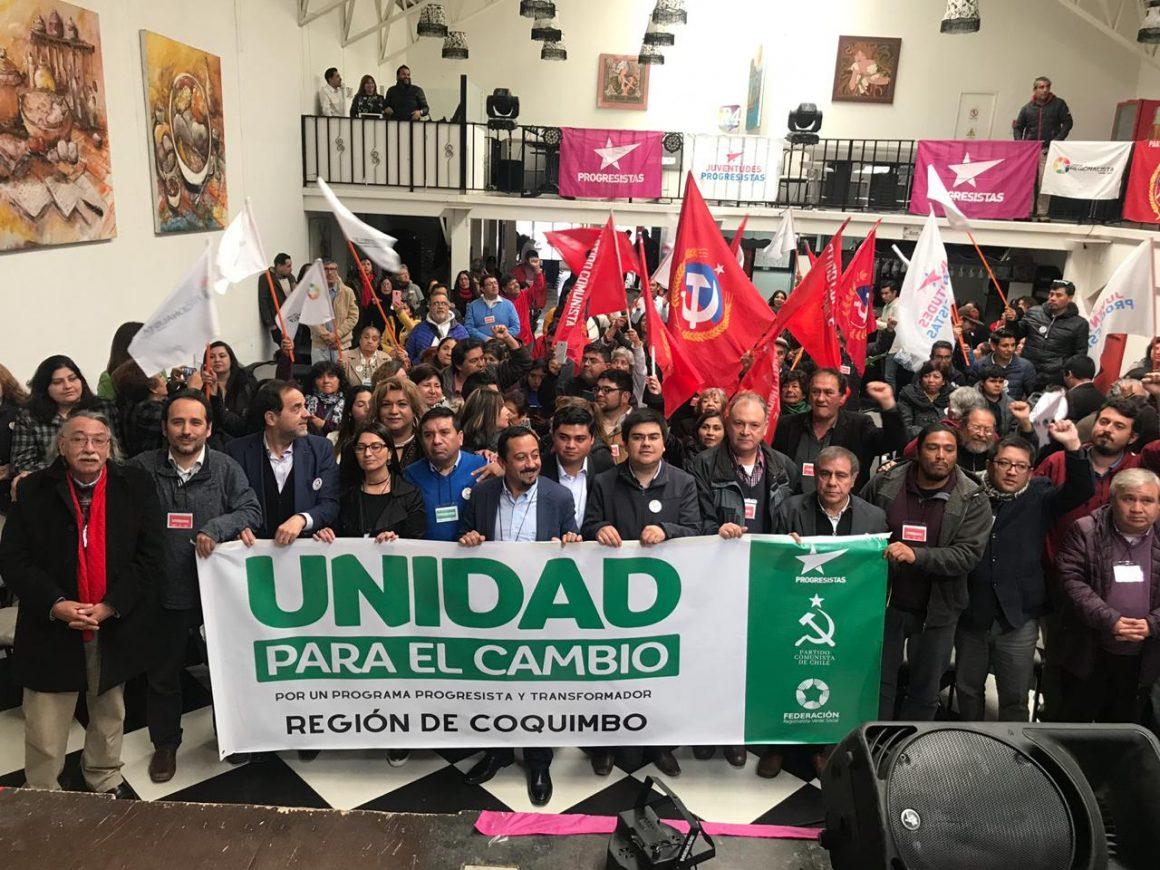 Masivas gira y actividades Progresistas en el norte de Chile