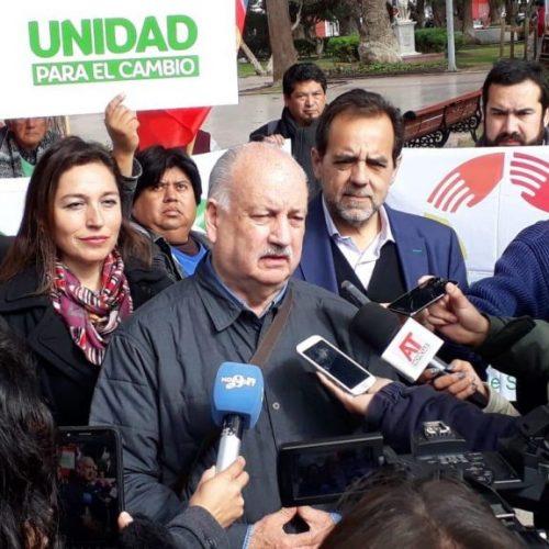 """Coalición """"Unidad para el Cambio"""" presentó sus propuestas en Atacama y Coquimbo"""