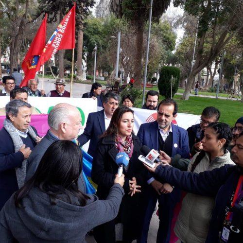 [El diario de Atacama] Comenzó competencia para gobernadores y alcaldes con la alianza de tres partidos políticos
