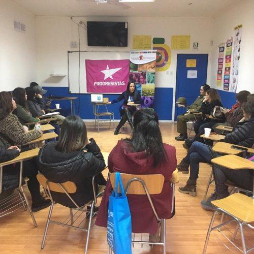 Progresistas de Ñuble protagonizaron diálogo sobre violencia de género