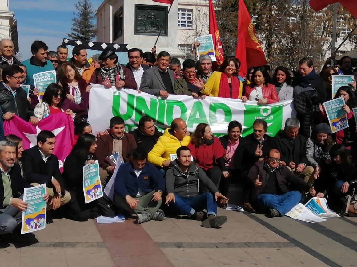 """[El Rancagüino] Lanzan coalición """"Unidad para El Cambio"""" en Rancagua"""