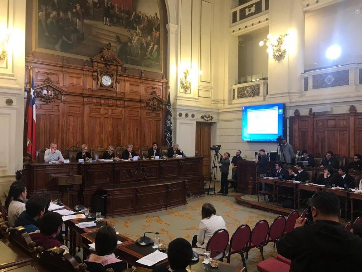 Juventud Progresista expuso a favor de voto juvenil en comisión de DDHH del Senado