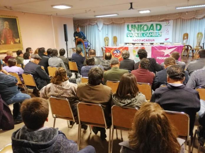 [Aconcagua al día] Presentan en Aconcagua nuevo bloque político Unidad para el Cambio