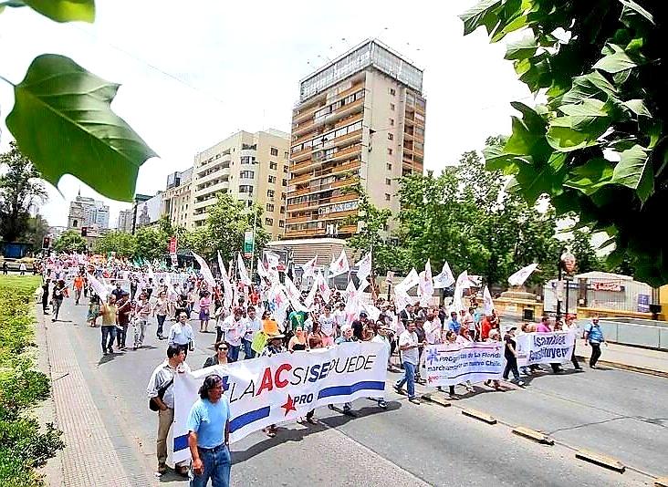 """Progresistas y marcha No + AFP: """"Tenemos el deber de movilizarnos en todo el país por la dignidad en la vejez"""""""