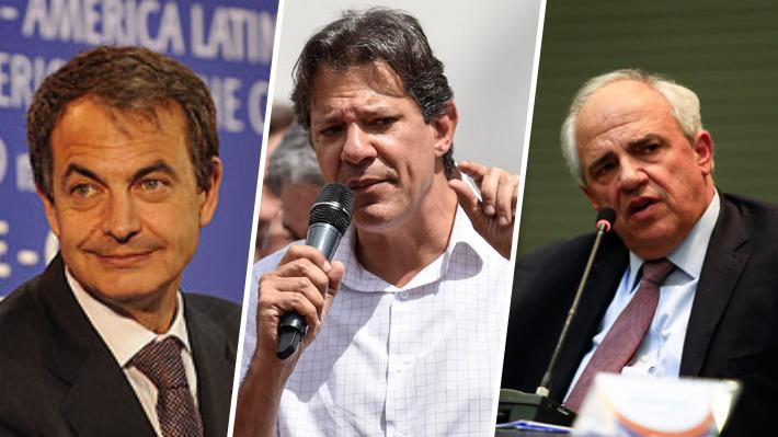 [EMOL] Zapatero, Haddad y Samper: Las figuras que vendrían a la versión chilena del Grupo de Puebla
