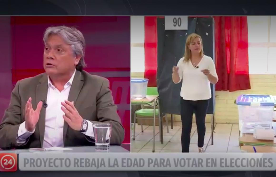 """[24 Horas] Senador Navarro: """"Los jóvenes de 14 y 16 años pueden participar en las elecciones"""""""
