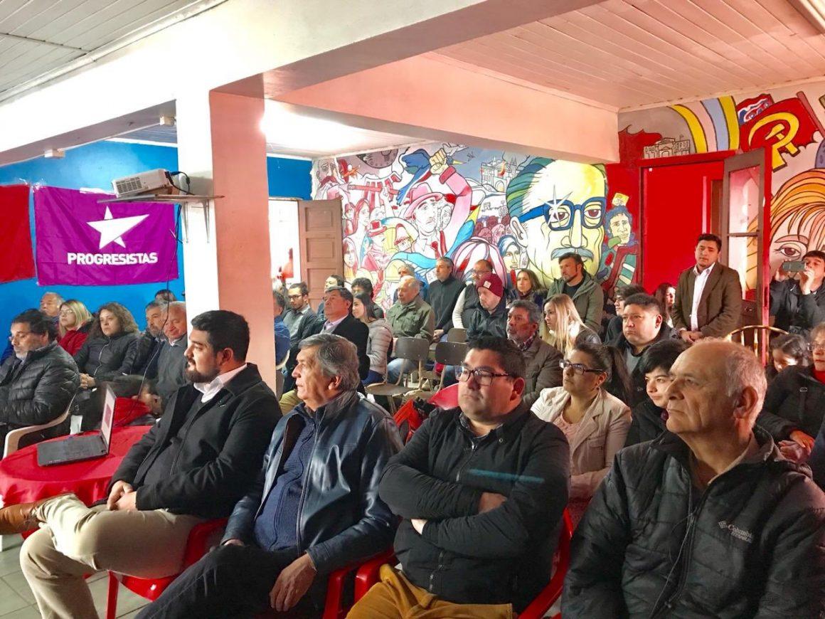 """[Crónica Chillán] Alianza electoral """"Unidad para el Cambio"""" abre sus puertas en Ñuble"""