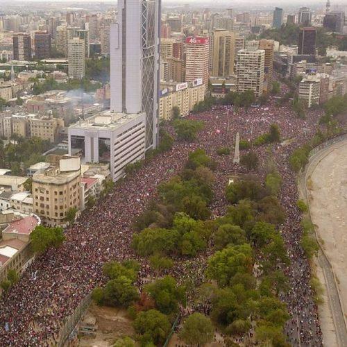 Columna   La apropiación del gobierno de una movilización que no les pertenece