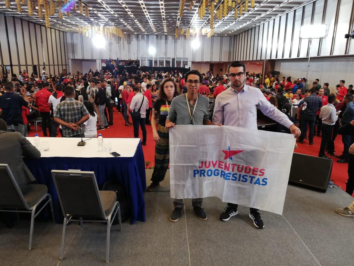 Las Juventudes Progresistas de Chile fueron parte del Congreso Internacional de Jóvenes y Estudiantes