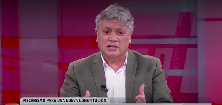 """[24 Horas] Alejandro Navarro: """"Negar la asamblea constituyente es negar la historia de Chile"""""""