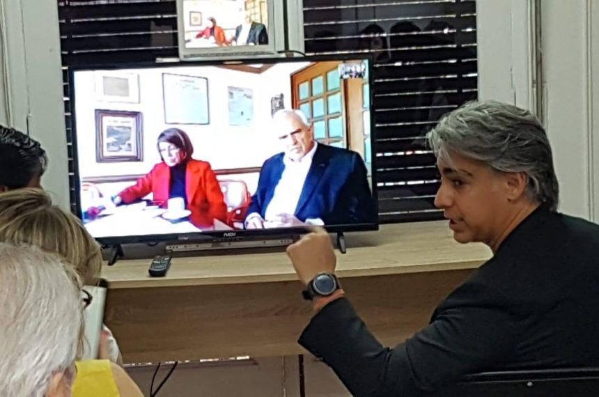 """Ex presidente Ernesto Samper comparte experiencia de proceso constituyente colombiano: """"Es el momento para encontrar la mejor salida para Chile"""""""