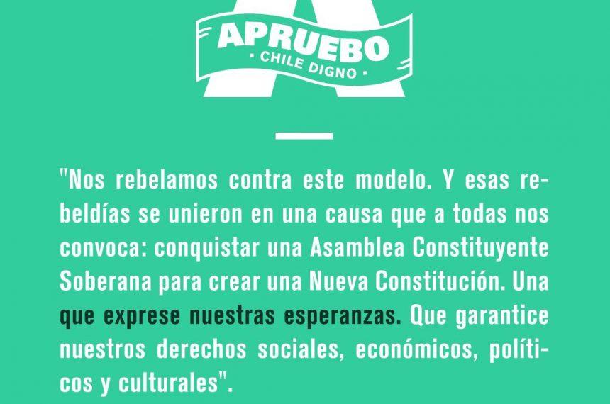 """[Nuevo Mundo] Ricardo Godoy y comando Apruebo Chile Digno: """"Nueva Constitución implica también una transformación, política, cultural y social para el país"""""""