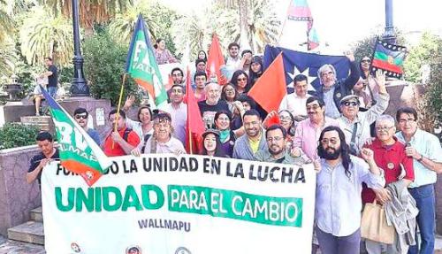 """[El Austral] Bloque Unidad para el Cambio lanza su comando """"Apruebo"""""""