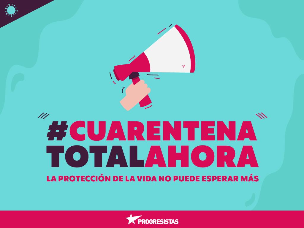 """PRO insta al gobierno a seguir medidas anunciadas en Argentina por Covid-19: """"Es hora de que el Estado actúe como tal y declare cuarentena total y obligatoria"""""""