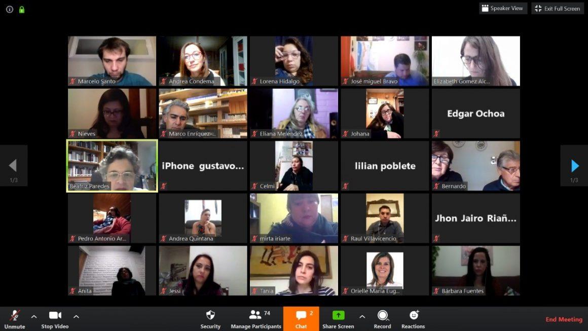 Ministra de la Mujer argentina participa de conversatorio virtual de Marco Enríquez-Ominami