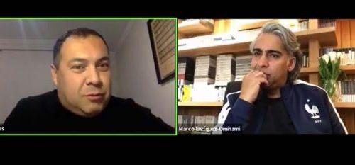 Camilo Lagos y Marco Enríquez-Ominami conversaron sobre las medidas del Gobierno para aplanar la curva del Cvid-19