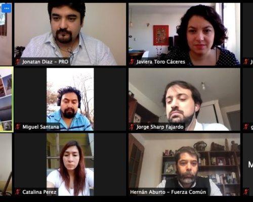 [Bío-Bío] Oposición se agrupa en diálogo paralelo al de Piñera y define medidas urgentes para paliar la crisis