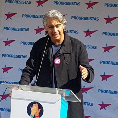 """Marco Enríquez-Ominami: """"Acompañaré a todos y a todas en este proceso de unidad para que en las próximas elecciones gane el cambio"""""""