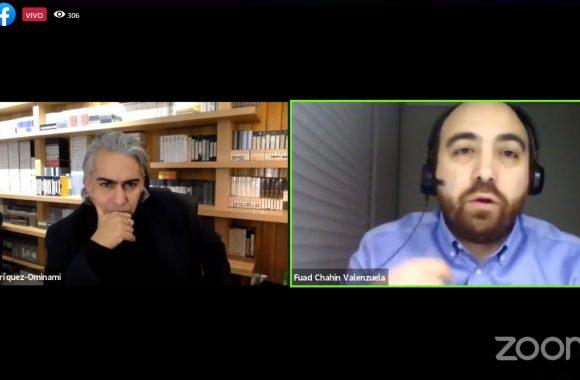 """Fuad Chahín en conversación con Marco Enríquez-Ominami: """"Estamos disponibles para ir a primarias en todas las comunas y en todas las gobernaciones regionales con todos los partidos de oposición"""""""