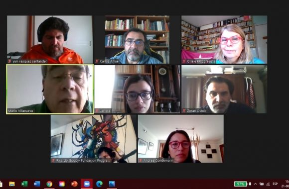 En reunión de Unidad para el Cambio con Coordinadora No Más AFP, Progresistas enfatizan que buscan ser el Caballo de Troya para que independientes entren a la Convención Constitucional