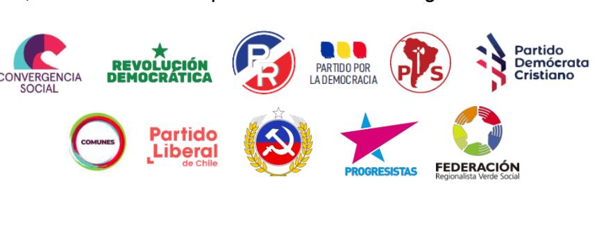 Declaración pública partidos políticos y bancadas de oposición