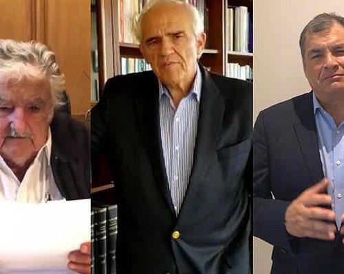 [EMOL] Ex presidentes Mujica, Samper y Correa llaman a chilenos a votar por el Apruebo en Plebiscito de octubre