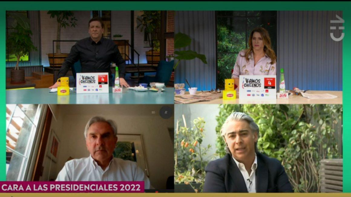 "[CHV] Marco Enríquez-Ominami: ""A Joaquín Lavín no le creo nada, pertenece a la antigua política"""