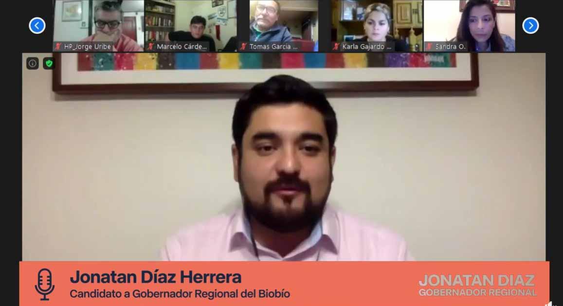 """PRO lanza campaña de candidato a Gobernador en el Biobío: """"Este no es un proyecto personal, es un proyecto colectivo"""""""