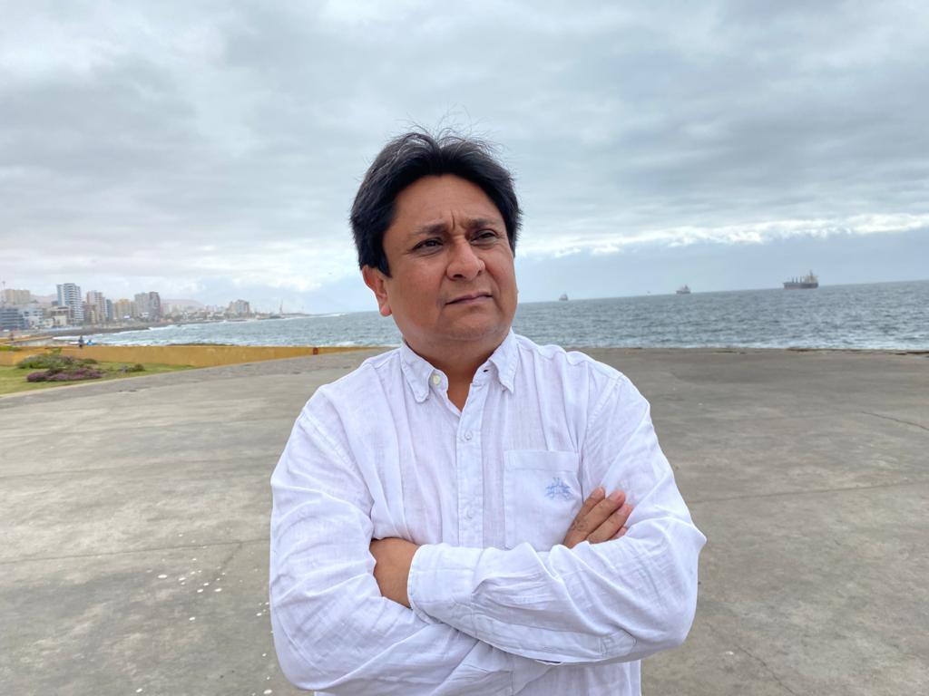 """Ricardo Díaz Cortés, candidato a gobernador por la Región de Antofagasta: """"No soy parte de la tradición y errores de las últimas décadas"""""""