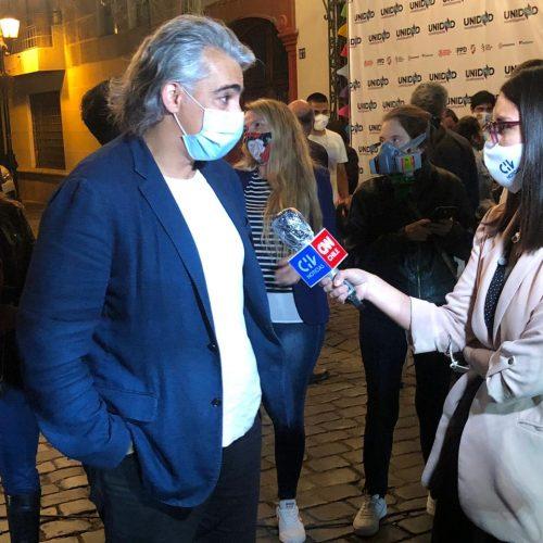 """Marco Enríquez-Ominami: """"No es eficiente tener dos Congresos, más aún cuando el árbitro está en contra"""""""