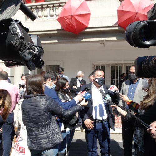 """Presidente del PRO tras declaraciones de Guillermo Teillier: """"Omite que el acuerdo era primarias amplias, pero seguro nos reencontraremos en todo lo que viene"""""""