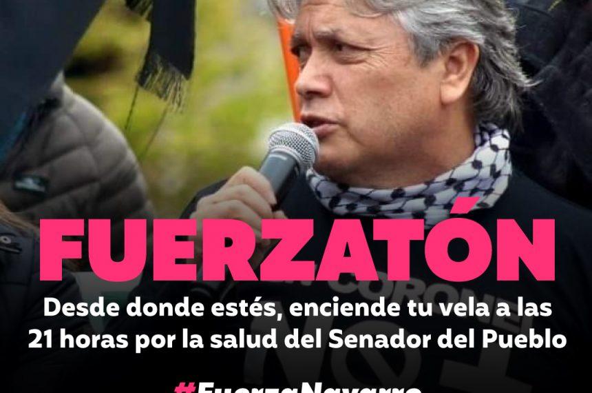 """Camilo Lagos sobre estado de salud de senador Alejandro Navarro: """"Él es un luchador, y ahora está luchando"""""""