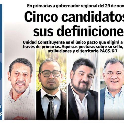 """Jonatan Díaz: """"Necesitamos un Gobierno Regional con participación activa y vinculante"""""""
