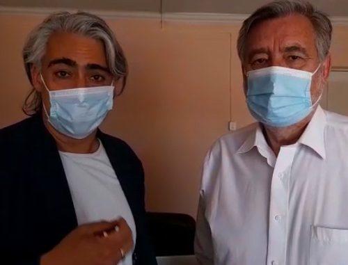 """Alejandro Guillier y Marco Enríquez-Ominami exigen aprobación inmediata del segundo retiro del 10%: """"No es la mejor, pero es una solución"""""""