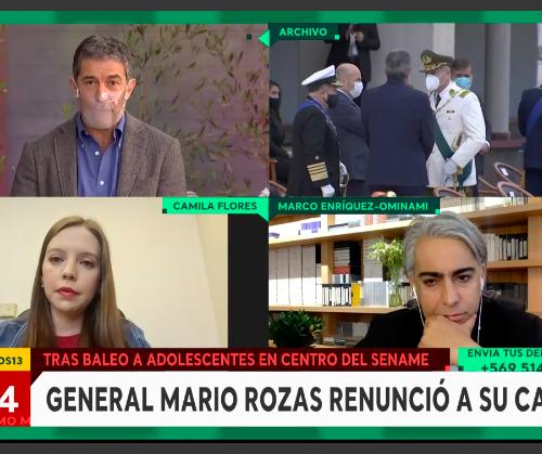 """[Canal 13]Marco Enríquez-Ominami: """"Carabineros no puede mal usar su poder de fuerza que le hemos regalado"""""""