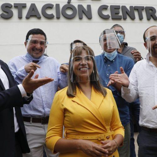 [Cooperativa] Candidata socialista lanzó campaña en Estación Central junto a la DC y el PRO