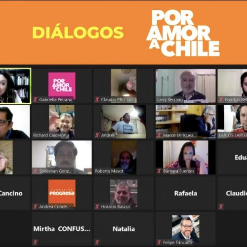 Diálogos por amor al Distrito 12: Carola Naranjo encabezó cabildo junto a Marco Enríquez-Ominami