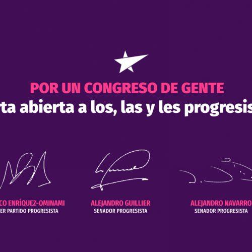 Por un Congreso de gente   Carta abierta a los, las y les progresistas
